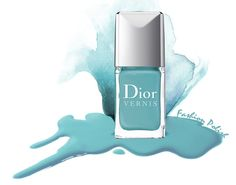 Dior nail polish in St. Tropez.  I'm not into this for nails but I must have something in this color.