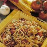 Spaghetti con i moscardini.