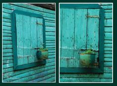 Turquoise, turquoise, turquoise... art