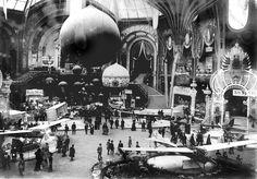 Le Grand Palais (Paris), Exposition Universelle, 1900.