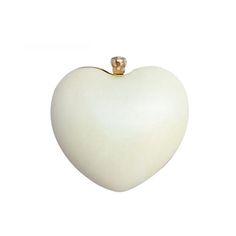 Hartvorm Wit Avondtassen 2016 Zwart Geel Clutch Bag Zilver Koppelingen Purse Fashion Kettingen handtas bolsa feminina w718 in                                                                                                              van ' s avonds zakken op AliExpress.com | Alibaba Groep