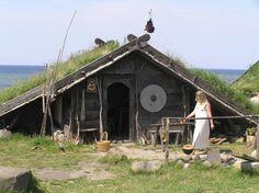 Viking museum, Foteviken por Johan Söderberg