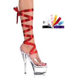 Stripper Heels Store - PLEASER - 6 Inch Mid-Platform Lace-Up Heel  With Interchangeable Laces, $54.99 (http://www.stripperheelsstore.com/pleaser-6-inch-mid-platform-lace-up-heel-with-interchangeable-laces/)