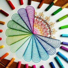 Colorful Mandala mit dem STABILO Pen 68 und point 88 Doodle Art Colorful dem doodle art for beginners Mandala mit Pen point Stabilo und Geometric Art, Fineliner Art, Cool Art Drawings, Doodle Art, Mandala, Doodle Art For Beginners, Mandala Art Lesson, Colored Pens, Doodle Drawings