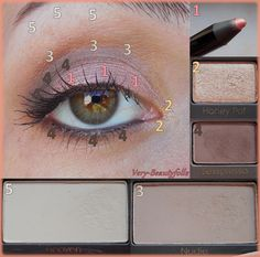 """Make-Up with Natural Eyes - Too Faced + Metallic Shadow Stick """"Peachy Sheen"""" - LOC."""