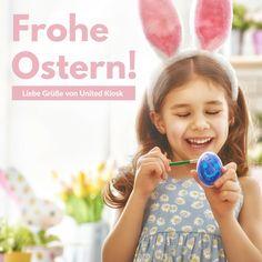 Ganz, ganz liebe Ostergrüße vom ganzen Team! Wir wünschen euch bunte Eier, leckere Osterlämmer und einen sonnigen Tag
