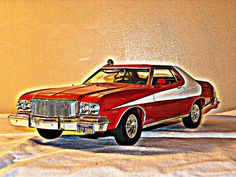 Starsky & Hutch was one of those cop dramas in the 1970s that featured a nice hot rod. Ford had used Ford Gran Torinos from the 1974 to 1976 models during its four season run from 1975-1979.