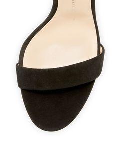 Giuseppe Zanotti - Kloe Suede Ankle-Wrap 110mm Sandal Celebrity Shoes, Shoe Sites, Giuseppe Zanotti Shoes, Ankle, The Originals, Sandals, Celebrities, Wall Plug, Celebs