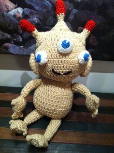 I totally want this Sea-Monkey stuffed animal! Its darling! Sea Monkeys, Not My Circus, Tiki Art, Crochet Patterns, Geek Stuff, Creatures, Christmas Ornaments, Holiday Decor, Cute