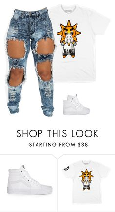 """Untitled #623"" by prettygirlnunu ❤ liked on Polyvore featuring Vans"