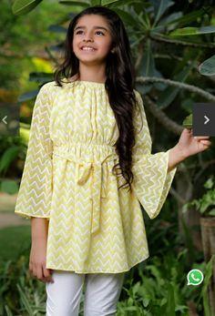 Kids Dress Up, Dresses Kids Girl, Baby Dresses, Long Dresses, Cotton Dresses, Pakistani Fashion Casual, Pakistani Dresses Casual, Stylish Dress Designs, Stylish Dresses