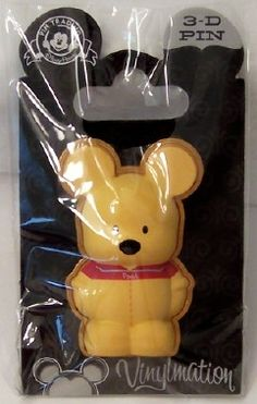 Disney Vinylmation Pin Park 3 Series Winnie the Pooh New On Card - GoodNReadyToGo Disney Jr, Disney Junior, Disney Winnie The Pooh, Disney Pins, Walt Disney, Disney Universal Studios, Disney Pin Collections, Disney Products, Disney Trading Pins