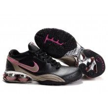 Nike Womens Shox R4 2 Plating black pink