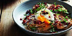spaghetti carbonara met chorizo