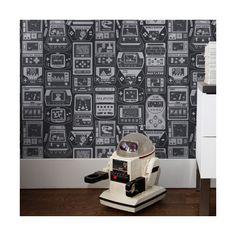 Aimee Wilder Designs Kiki Gameland 15' x 28'' Wallpaper | AllModern
