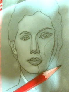 peggy aplSEEDS: Drawing a Face: Tracing Technique. Good tutorial. This should give confidence!