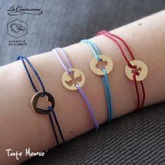 Bracelet Mini Colombe La Couronne en OR