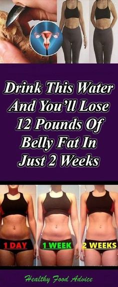 DRINK THIS WATER AND YOU'LL LOSE 12 POUNDS OF BELLY FAT IN JUST 2 WEEKS