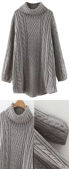 94e365b8675 Fall Gray Knit Dress by Stayingsummer!More knit dress outfits in  Stayingsummer!