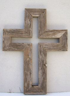 How to Make a Wooden Cross for Beautiful Decor ~ Popular Living Room Design