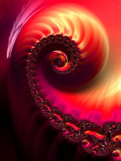 Unique Fractal - Blush Art Print by Mark Sedgwick - Fibonacci Golden Ratio, Art Fractal, Blush, Ancient Artifacts, Sacred Geometry, Geometric Shapes, Form, Illusions, Digital Art