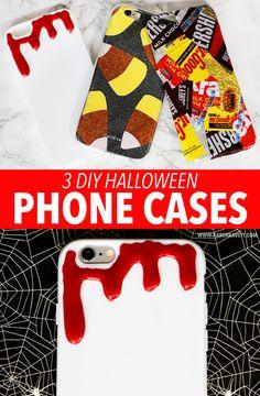 3 DIY Halloween Phone Cases - Karen Kavett