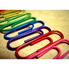 As weird as it may seem..I have a thing for paperclips...