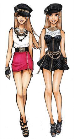 spring 2013 by *Nina-D-Lux on deviantART Cartoon Sketches, Fashion Illustration Sketches, Fashion Sketches, Japanese Fashion, Korean Fashion, Shadow And Amy, Fashion Artwork, High Fashion Looks, Disney Couture