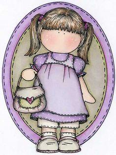 3.2- Muñecas Magnolia - 110835080329864310517 - Álbumes web de Picasa Kid N Teenagers, Cute N Country, Magnolia Stamps, Sketch 2, Magnolias, Digi Stamps, Card Maker, Copics, Cute Art