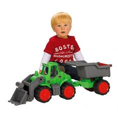 BIG – Power Worker Tractor with Trailer - $64.99 Costco