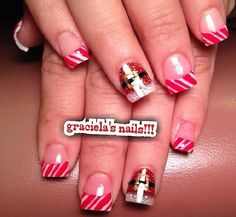 Acrylic nails by Graciela