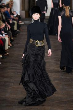 Dramatic skirts. Fit and flare. Ralph Lauren