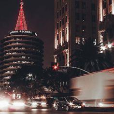 Hollywood California, Empire State Building, Christmas Tree, Holiday Decor, Travel, Home Decor, Teal Christmas Tree, Viajes, Decoration Home