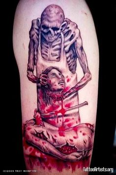 CANNIBAL CORPSE tattoo.