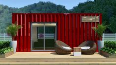 For anyone looking to downsize, shipping container homes offer durability and an eco-friendly way to reuse some of the thousands of surplus containers that sit on docks around the world. Often less expensive than other housing options, we've seen shipping containers transformed into urban farms, off-