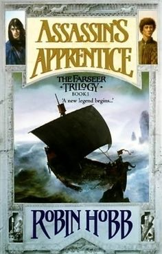"""Assassin's Apprentice (Farseer Trilogy, #1)    """"Born on the wrong side of the sheets, Fitz, son of Chivalry Farseer, is a royal bastard, cast out into the world, friendless and lonely. Only his magical link with animals - the old art known as the Wit - gives him solace and companionship. But the Wit, if used too often, is a perilous magic, and one abhorred by the nobility."""""""