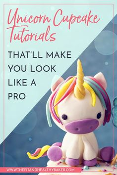 Unicorn themed party coming up? Then you don't want to miss these 6 Easy Unicorn Cupcake Tutorials that are perfect for beginner and advanced bakers alike. Coffee Cupcakes, Fun Cupcakes, Decorate Cupcakes, Raspberry Smoothie, Apple Smoothies, Recipe For Teens, Cupcake Tutorial, Pear Cake, Unicorn Cupcakes