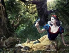 Everyone says I look like Snow White, so I think I should certainly have @Nicki B shoot me like her! <3 And when I have a baby, I will then have a dwarf, oh and Sam is of course my Prince! :)