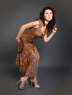Vestido de crochet largo exclusivo de Sienna por LecrochetArt