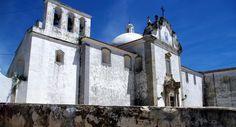 L'église de l'ancien couvent du Tiers-Ordre du Carmo, à Tavira, au Portugal.