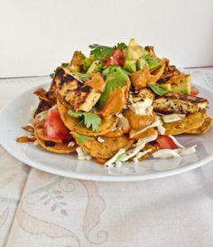 vegan nachos. yes, please!