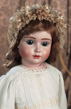 16 X. Comments: Kestner,circa 1885,the doll is known as the A.T. Kestner in reference to its close resemblance to the French bebe A.T.