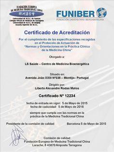 A CLÍNICA AONDE FAZ ACUPUNTURA TEM CERTIFICAÇÃO INTERNACIONAL?    Faça Acupuntura na Clínica N°1 em Portugal Mais informações em: http://ls-saude.blogspot.pt/p/acreditacao-internacional.html?m=1 #acupuntura #montijo #saude #certificaçao #femtc