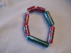 Stepping Thru Crazy: Recycled Craft: Plastic Bag Beads