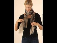 5 Ways to Tie a Scarf by Soft Surroundings