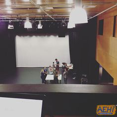 The camera crew filming our volleyball commentator sketch. #aehiqld #bananaflavouredmilk #volleyball #comedy