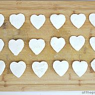 Make these Darling Clay Heart Tags or Magnets for Valentine's Day!...»#ValentinesDay