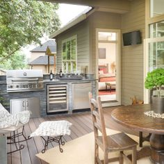 """See our internet site for more info on """"outdoor kitchen designs layout"""". It is an exceptional place to learn more. : See our internet site for more info on """"outdoor kitchen designs layout"""". It is an exceptional place to learn more. Small Outdoor Kitchens, Outdoor Kitchen Grill, Outdoor Grill Area, Outdoor Kitchen Countertops, Patio Kitchen, Outdoor Kitchen Design, Small Patio, Outdoor Spaces, Indoor Outdoor"""