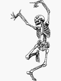 Dance With Death by TheWhiteBear drawings skeleton 'Dance With Death' T-Shirt by TheWhiteBear Skeleton Hand Tattoo, Skeleton Dance, Skeleton Drawings, Skeleton Art, Hand Tattoos, Skeleton Watches, Tatoos, Skeleton Flower, Halloween Drawings