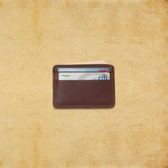 Mens Leather Wallet: Classic Leather ID Wallet